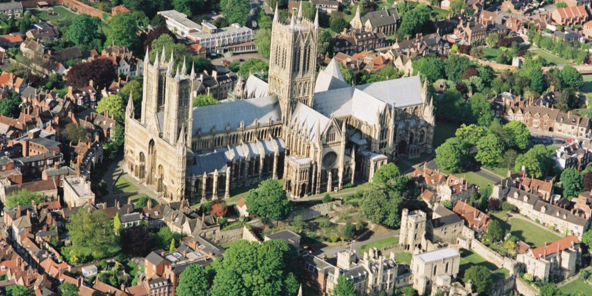 Aerial-view-of-Lincoln-Cathedral